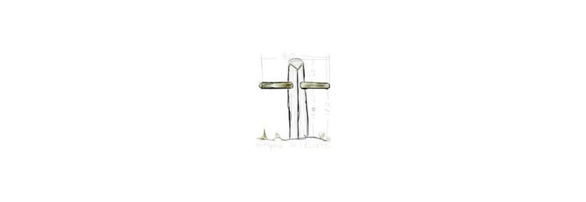 Das Eichen-Stahlrohr-Kreuz – der virtuelle Friedensaltar